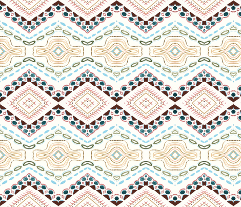 Paris-Texas-1A fabric by leah_quinn_design on Spoonflower - custom fabric