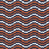 Jagged Brown Waves