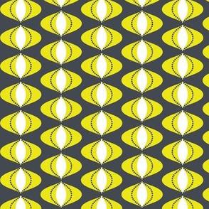 Groovy Ovals Citron Dream 1