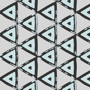 Mint Geometric Triangles