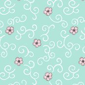 Rjapanese_garden_cherry_blossom_and_swirls_turquoise_300_hazel_fisher_creations_shop_thumb
