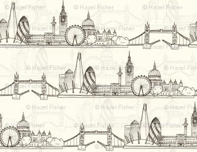 London Skyline (larger scale)