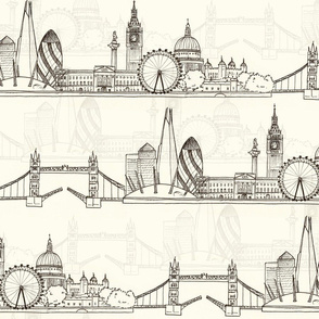 London Skyline (larger scale)