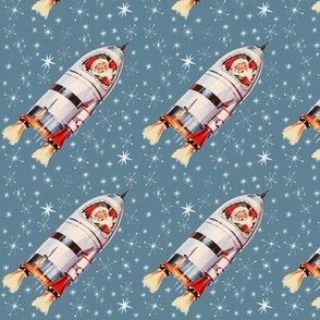 Atomic Santa - Retro Christmas Design