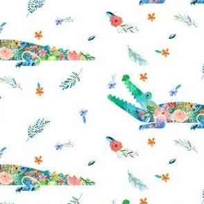 Floral Gator / Florida / College Football