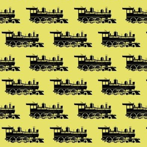 Steam Engines on Yellow // Small