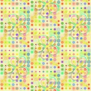 Flower Powered Pastel Grid