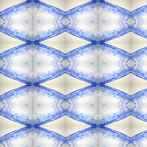Blue diagonal drop