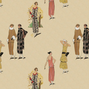 Twenties fashion plates