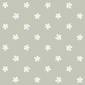 Carthusian Pink on Gray