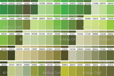16-04e Color Map Yellow Green-02_Miss Chiff Designs