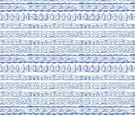 Periwinkle Lace fabric by countrygarden on Spoonflower - custom fabric