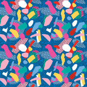 Candy Memphis Inspired Pattern 2