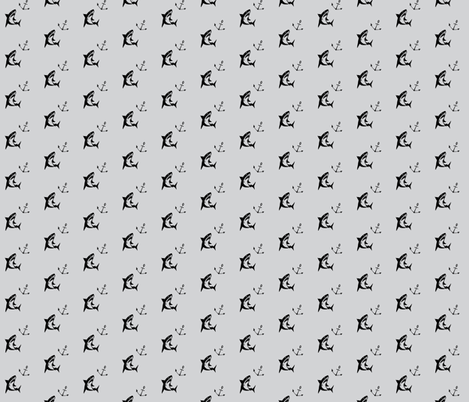 Shark grey  fabric by natmü_design on Spoonflower - custom fabric