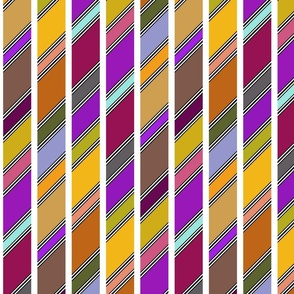 Slanted Stripe (Autumnal)