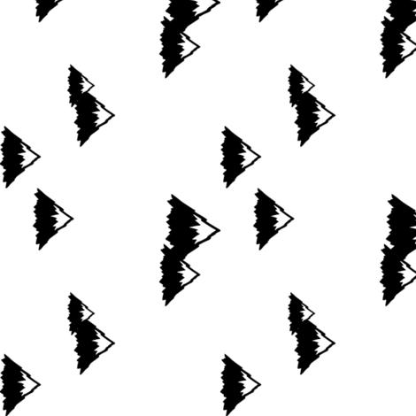 Mountains (90)  fabric by littlearrowdesign on Spoonflower - custom fabric