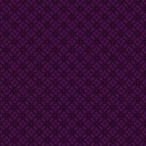Asian Circles -Purple