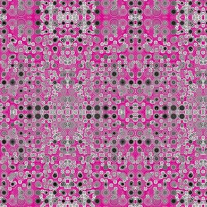 Dancing Dots and Spots on Flirty Fuchsia
