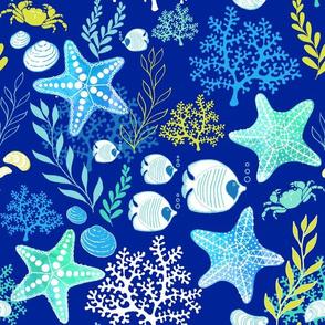 Undersea Treasures - Deep Blue