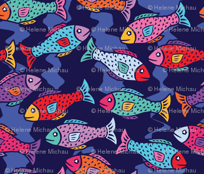 Deep sea-Fishes