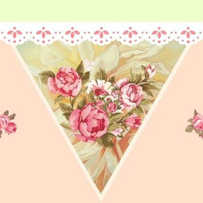Country Roses Traditional Bunting