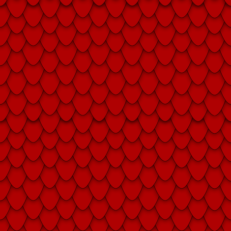 Red Dragon Scales fabric by charleyzollinger on Spoonflower - custom fabric