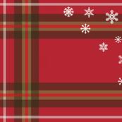 Christmas Tartan Tea Towel