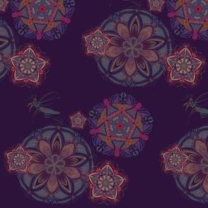 Mantis Mandala Print
