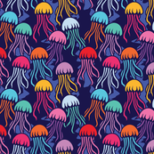 Deep sea-JellyFish