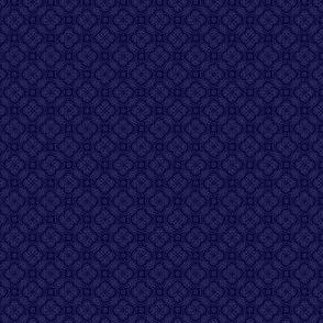 Asian Circles - Blue