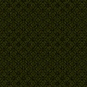 Asian Circles - Yellow