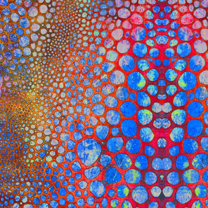 Red Bubbles Placemat