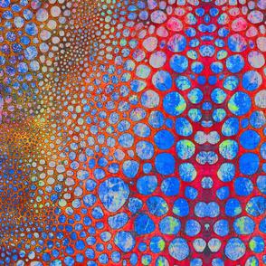 Red Bubbles Placemat