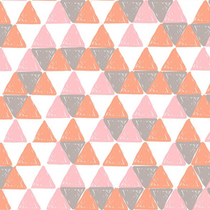 Orange and Pink Triangles