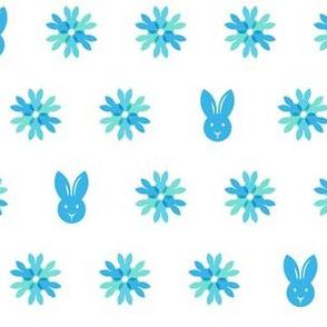 Snowflake Bunnies - Coordinate