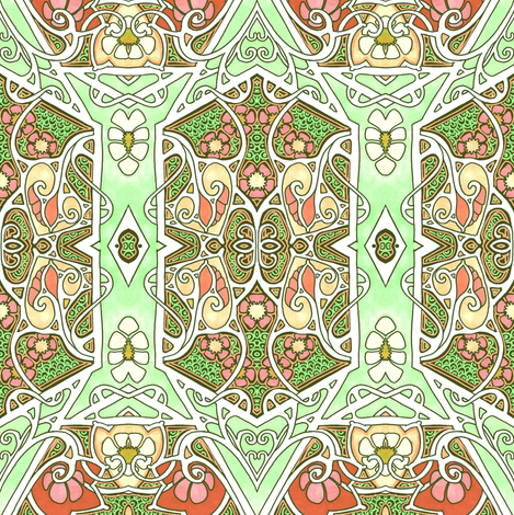 Spring 1928 fabric by edsel2084 on Spoonflower - custom fabric