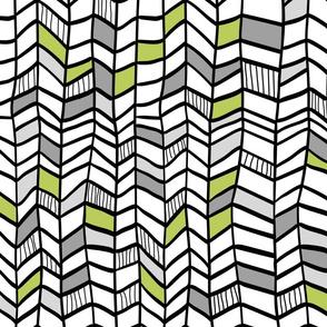 Multi Green Vertical Plumes