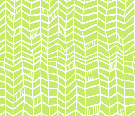 Solid Light Green Vertical Plumes fabric by dreammachineprints on Spoonflower - custom fabric