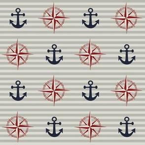 New England Nautical // Anchor & Compass