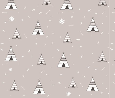 Pattern_teepee3_brown_3000x3000_shop_preview