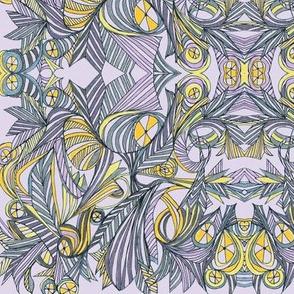 Steampunk IV-lavender