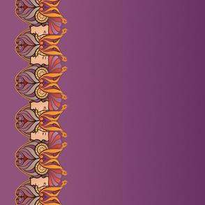 Art Nouveau border