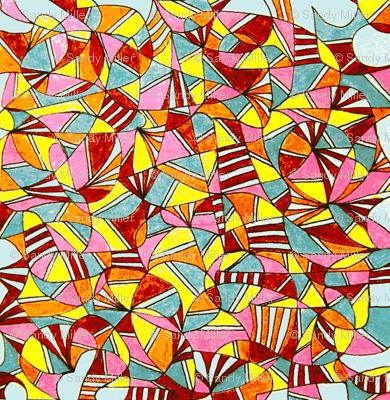 Aztec colorings-2