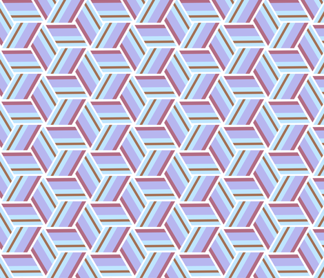 Retro fabric by edjeanette on Spoonflower - custom fabric