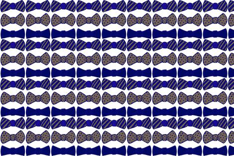 Bow Ties fabric by anniemorton on Spoonflower - custom fabric