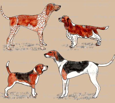 hunting_dogs_on_beige