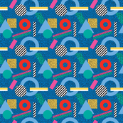 Candy Memphis Inspired Pattern 4