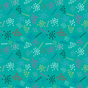Candy Memphis Inspired Pattern 14