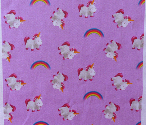 Unicorn Rainbow Scatter - Medium