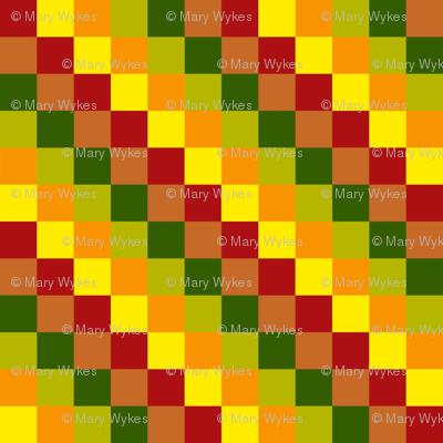BN11 - Summer Romp Diamonds in Red - Yellow - Orange - Green